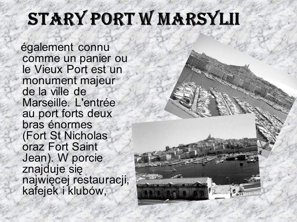 Stary Port w Marsylii également connu comme un panier ou le Vieux Port est un monument majeur de la ville de Marseille. L'entrée au port forts deux br