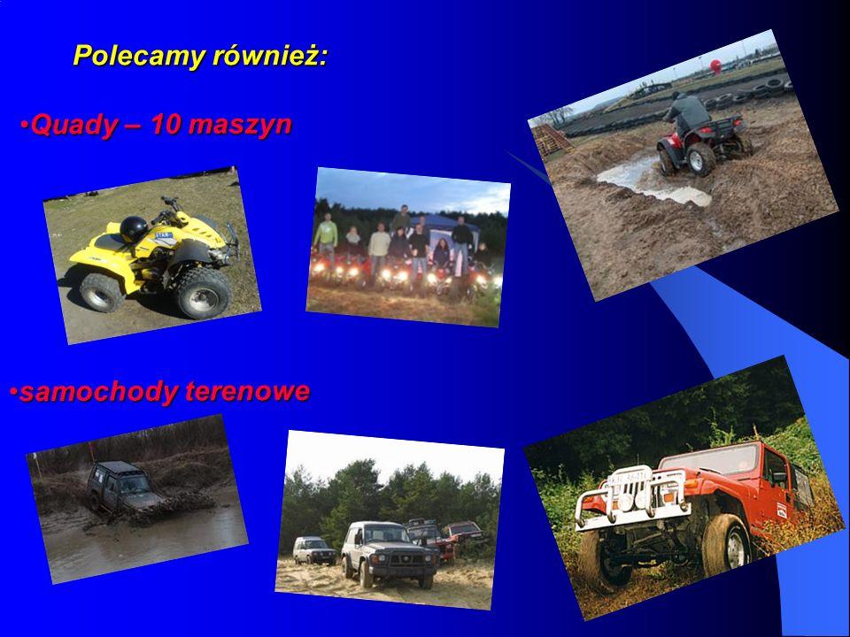Polecamy również: Quady – 10 maszynQuady – 10 maszyn samochody terenowesamochody terenowe