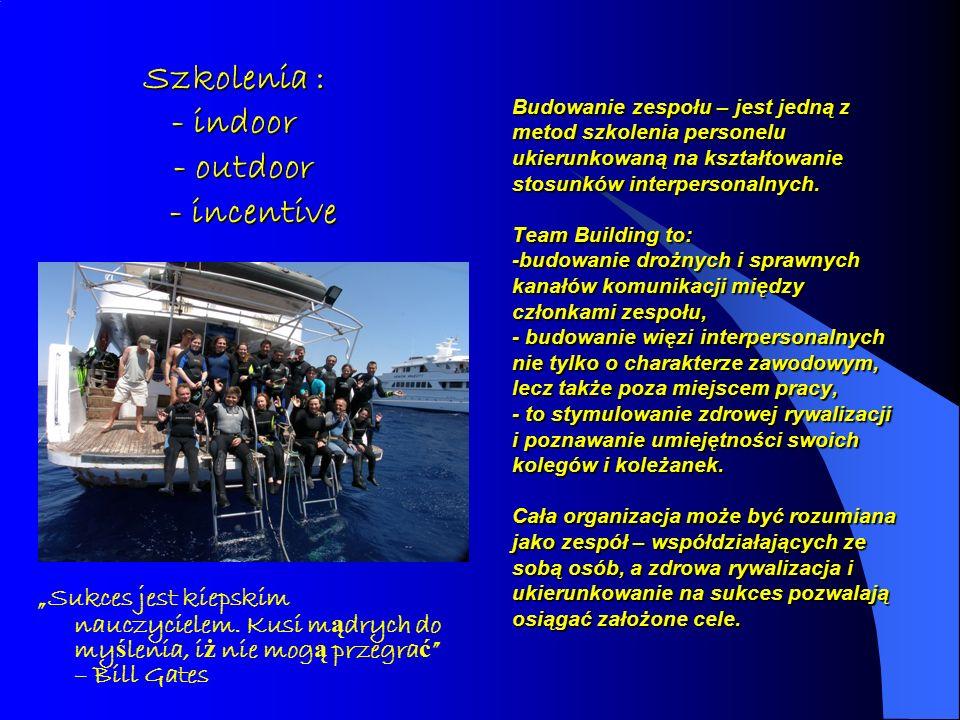 Budowanie zespołu – jest jedną z metod szkolenia personelu ukierunkowaną na kształtowanie stosunków interpersonalnych. Team Building to: -budowanie dr