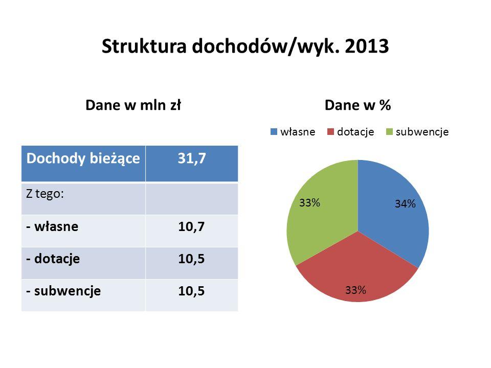 Struktura dochodów/wyk.