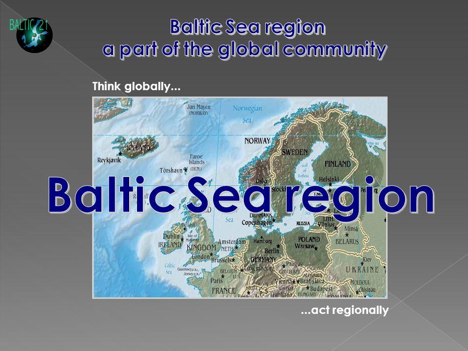 ...act regionally