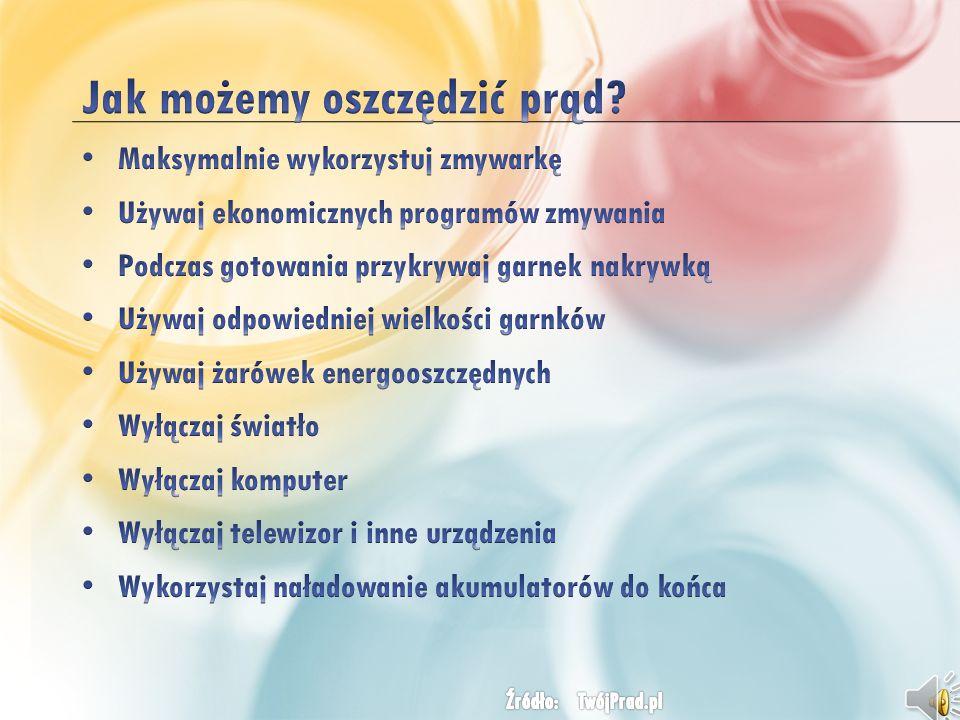 W Polsce roczne koszty zapotrzebowania na prąd sięgają 830 mln złotych.