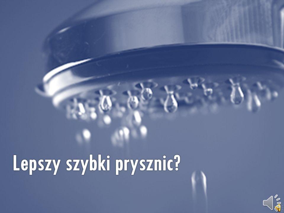 Zakręcajmy wodę podczas mycia zębów, golenia i innych podobnych czynności wykonywanych przy umywalce.