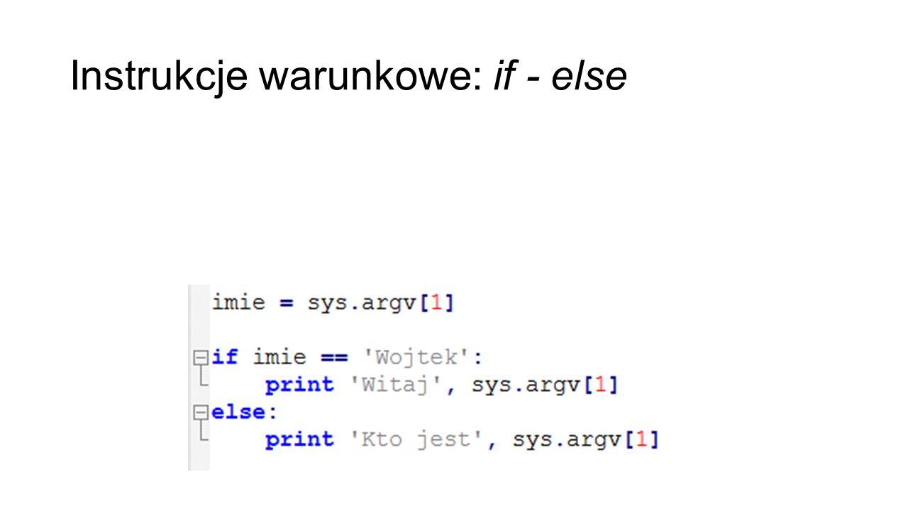 Zadania Napisz funkcje która biedzę brała liczbę jako input i oddaje string 'Liczba ciasteczek jest: #' w przypadku jak liczba jest mniejsza lub równa od 9 lub 'za dużo ciasteczek' jak liczba jest większa 9 Napisz funkcje która okraja pierwsze dwa i ostatnie dwie litery dowolnego stringu Napisz funkcje która zastępuje wszystkie litery które są identyczne z pierwsza litera dowolnego stringu o długości 1 lub więcej znakiem * ale nie zmienia pierwszą literę (np.