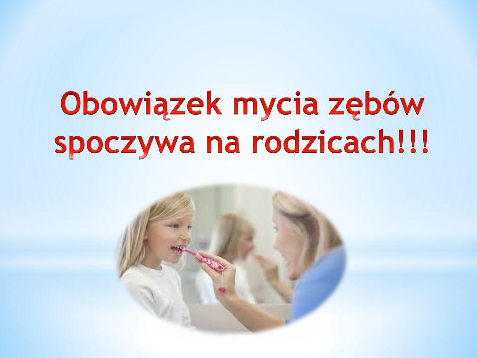 Myj dziąsła niemowlęcia, zanim jeszcze w jego buzi pojawią się pierwsze zęby!!.