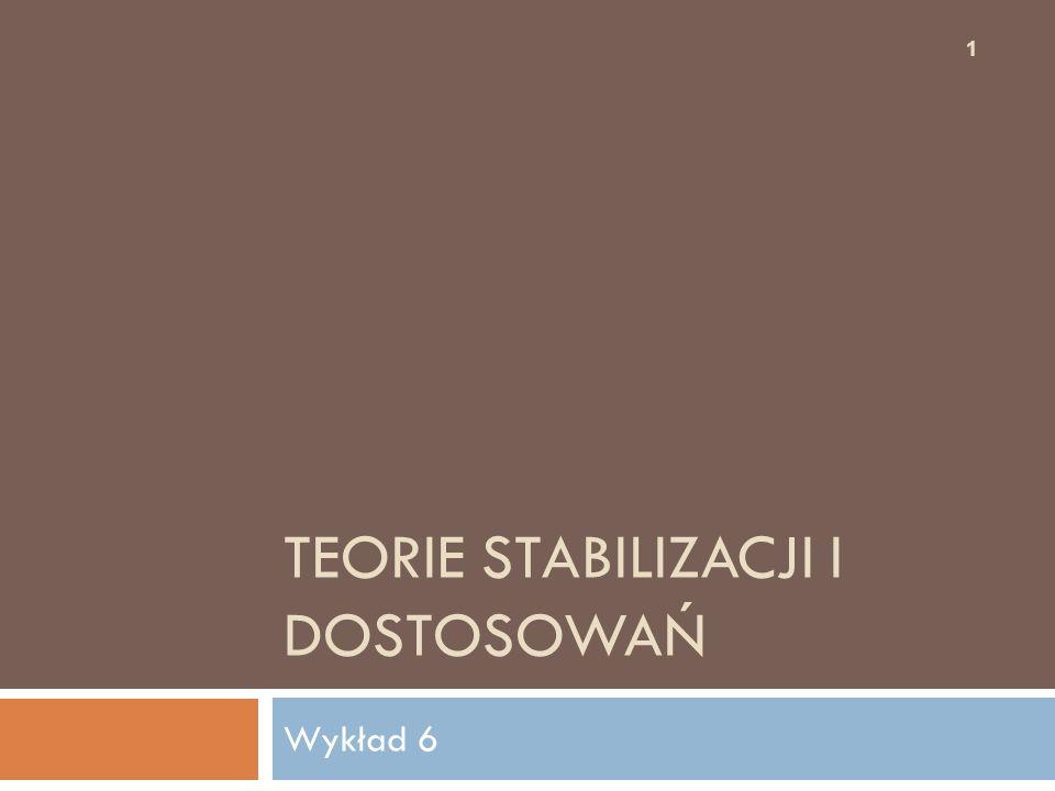 Bibliografia: 12  Z. Kozak Ekonomia zacofania i rozwoju, SGH Warszawa 2001