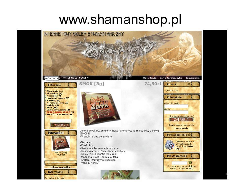 www.shamanshop.pl 6