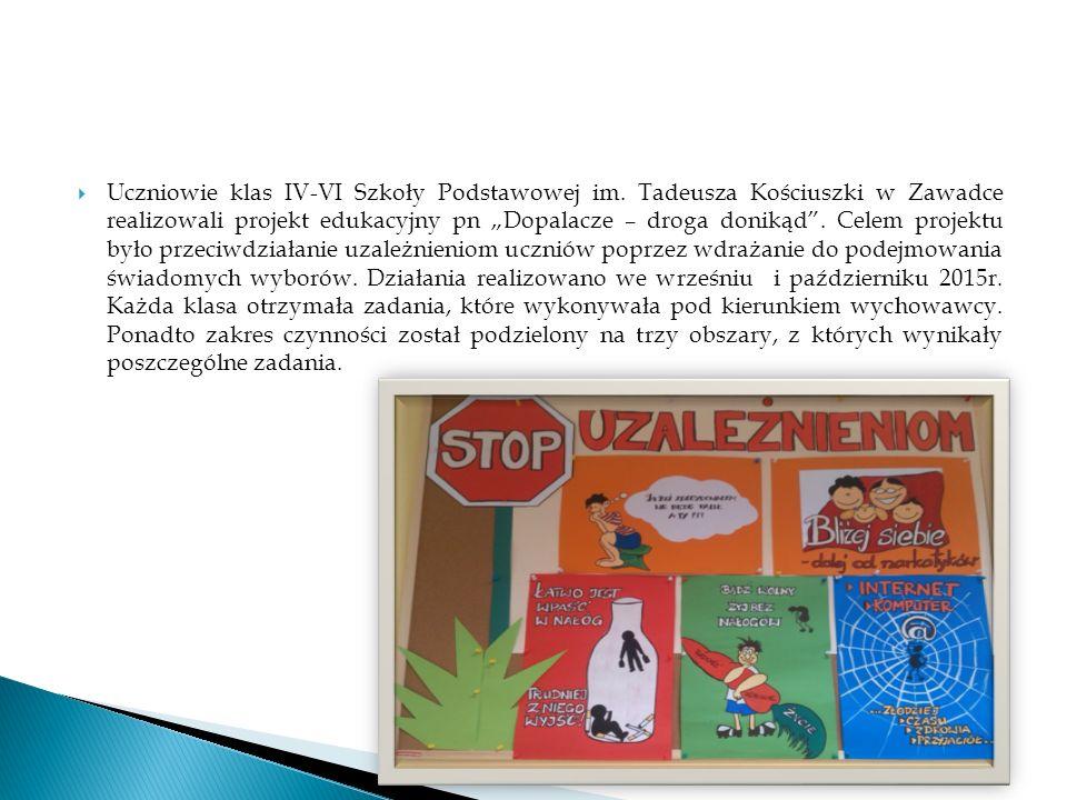  Uczniowie klas IV-VI Szkoły Podstawowej im.