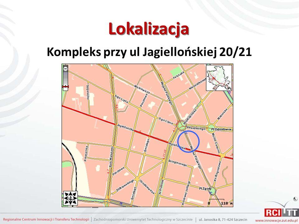 Lokalizacja Kompleks przy ul Jagiellońskiej 20/21