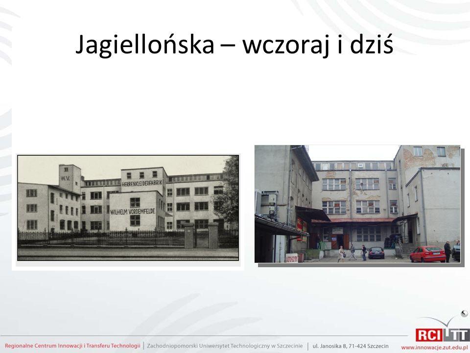 Jagiellońska – wczoraj i dziś
