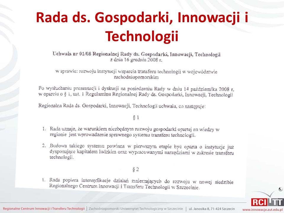 Rada ds. Gospodarki, Innowacji i Technologii