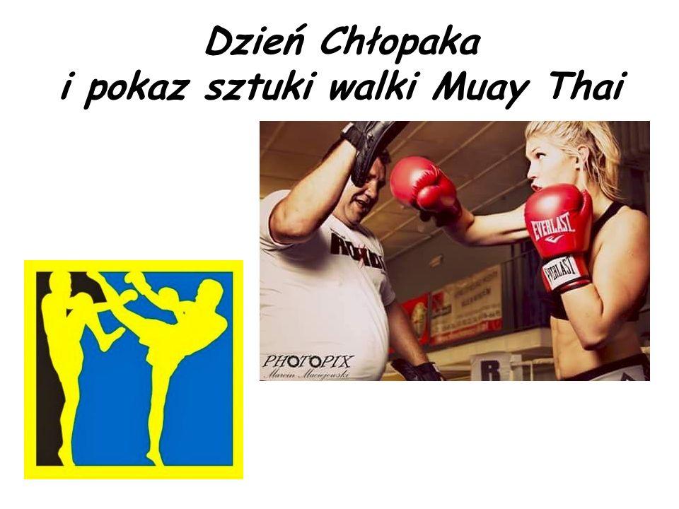 Dzień Chłopaka i pokaz sztuki walki Muay Thai
