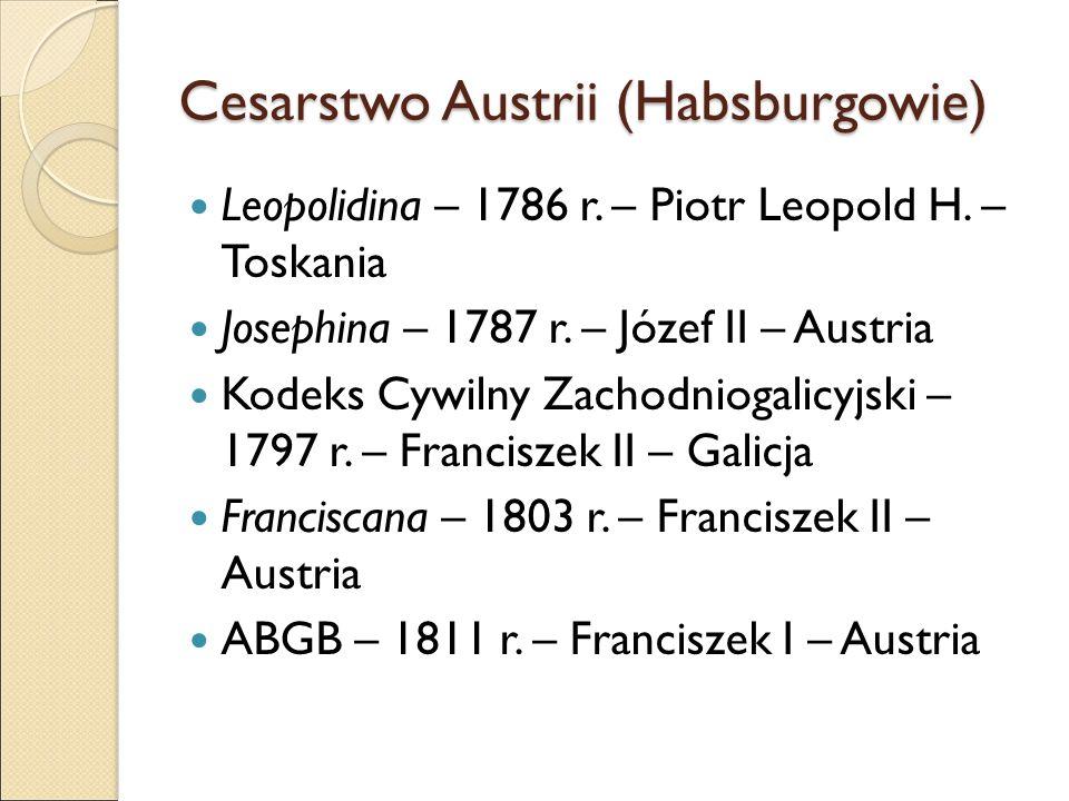 Cesarstwo Austrii (Habsburgowie) Leopolidina – 1786 r.