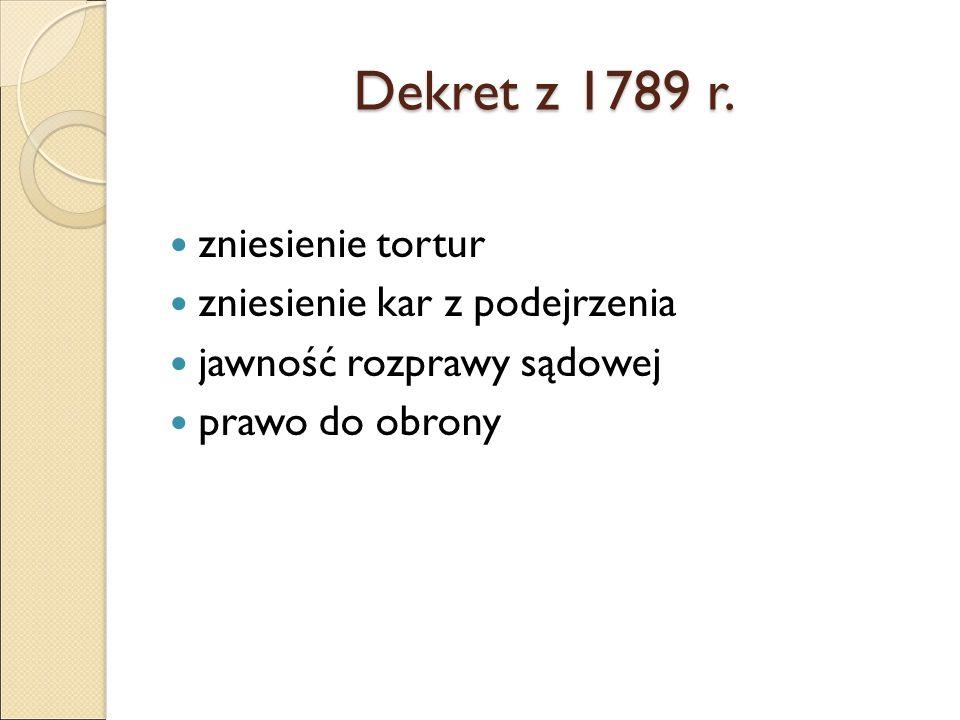 Dekret z 1789 r.