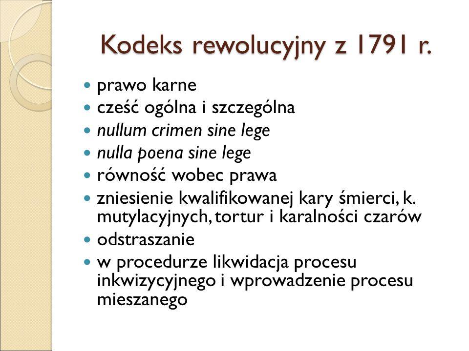 Kodeks rewolucyjny z 1791 r.