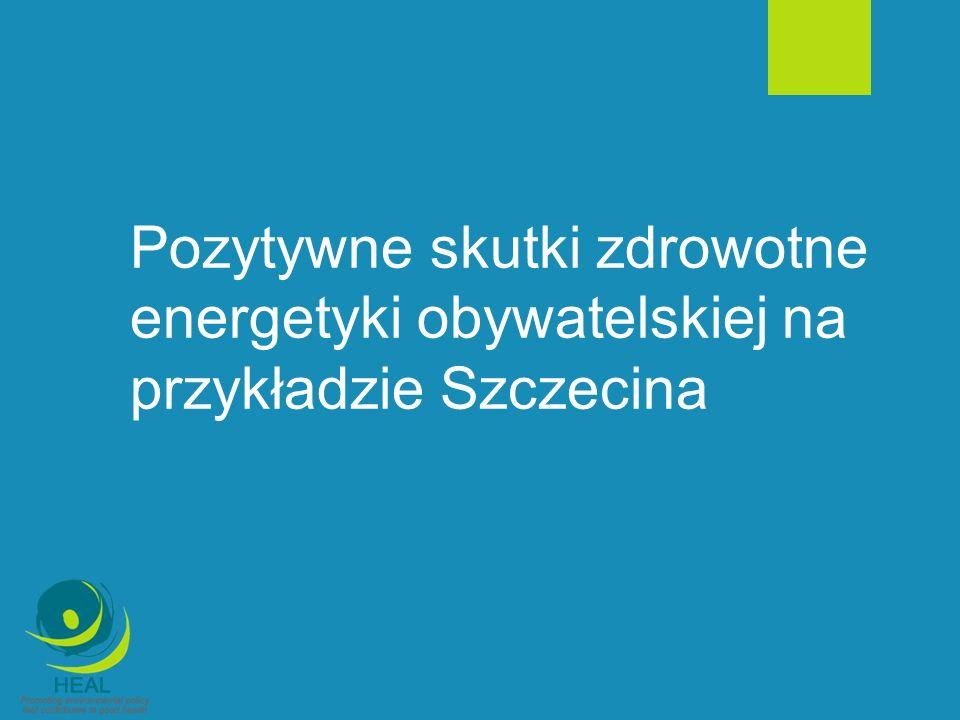 Pozytywne skutki zdrowotne energetyki obywatelskiej na przykładzie Szczecina