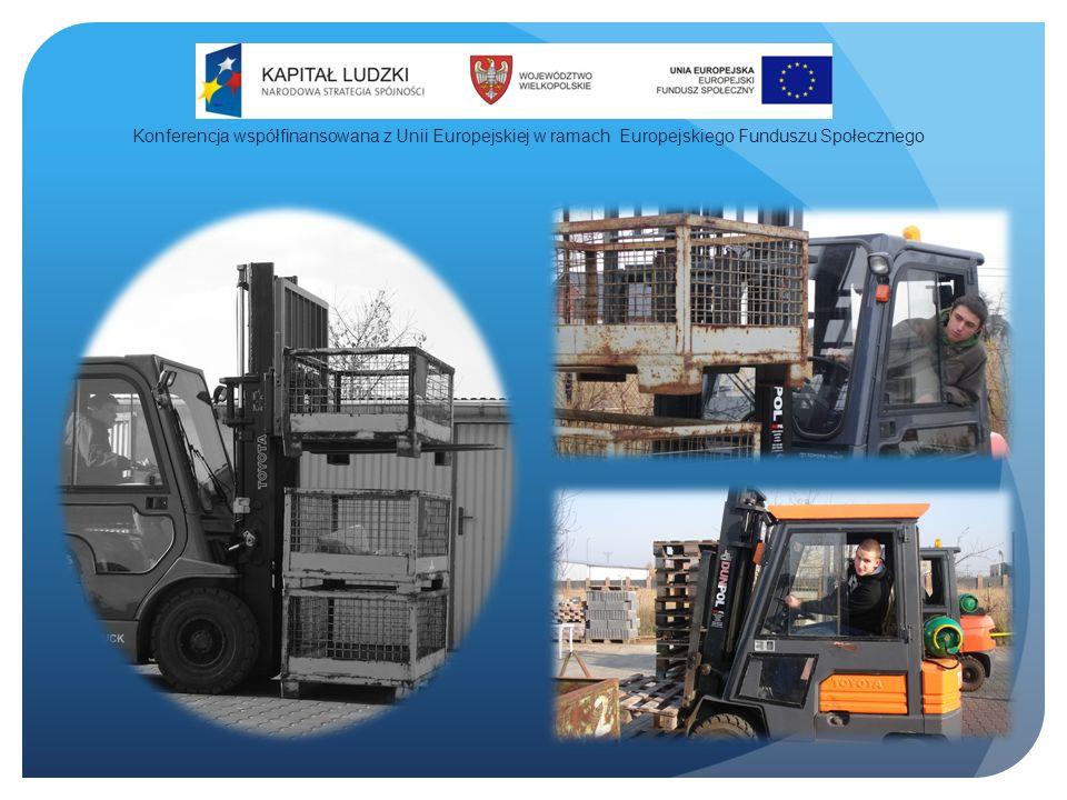 Konferencja współfinansowana z Unii Europejskiej w ramach Europejskiego Funduszu Społecznego