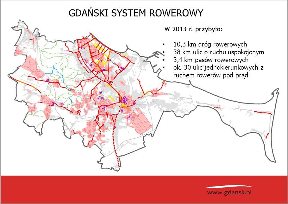 GDAŃSKI SYSTEM ROWEROWY W 2013 r.