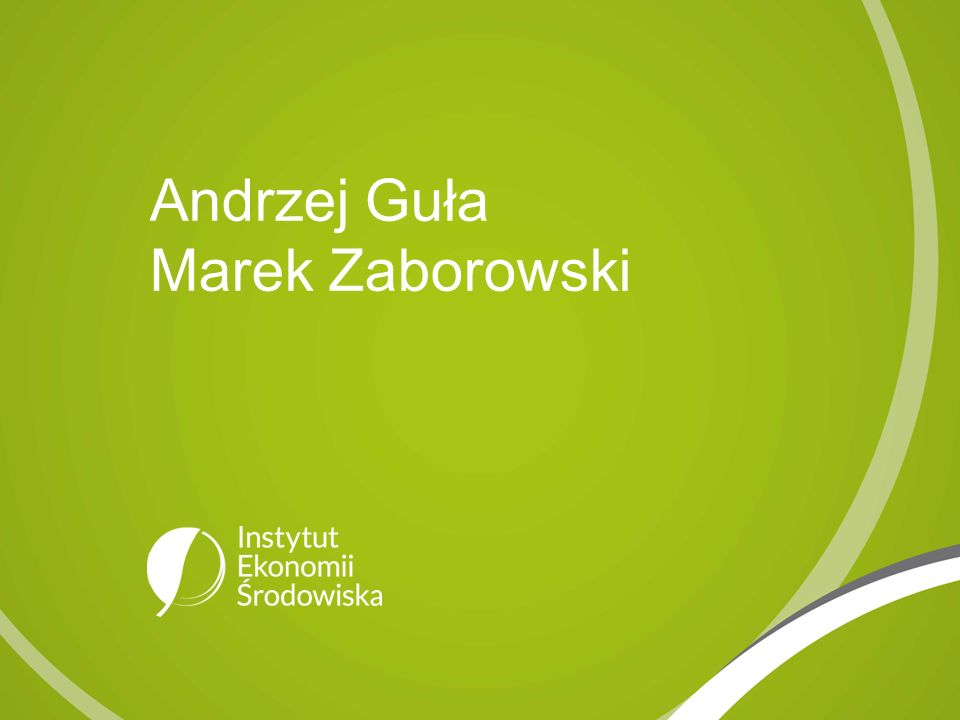Andrzej Guła Marek Zaborowski