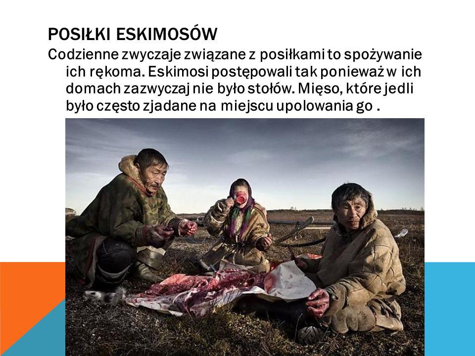 Eskimoskie powitanie to pocieranie się nosami. POWITANIE