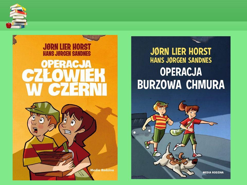 """""""OPERACJA CZŁOWIEK W CZERNI - JORN LIER HORST Druga część detektywistycznej serii dla dzieci."""