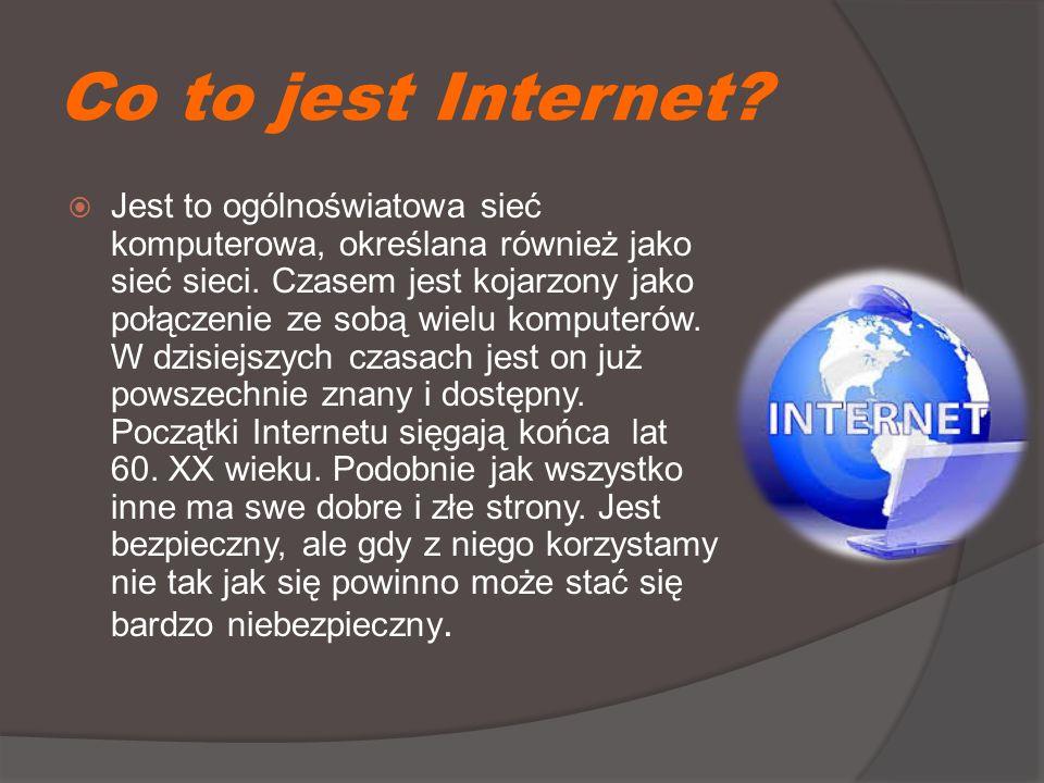 Krótkie podsumowanie:  Przestępstw związanych z Internetem jest bardzo dużo.