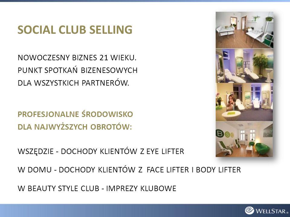 SOCIAL CLUB SELLING NOWOCZESNY BIZNES 21 WIEKU.
