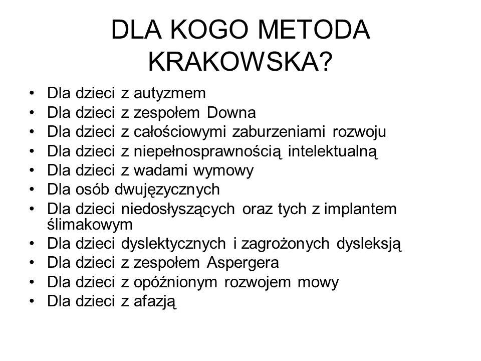 DLACZEGO METODA KRAKOWSKA.