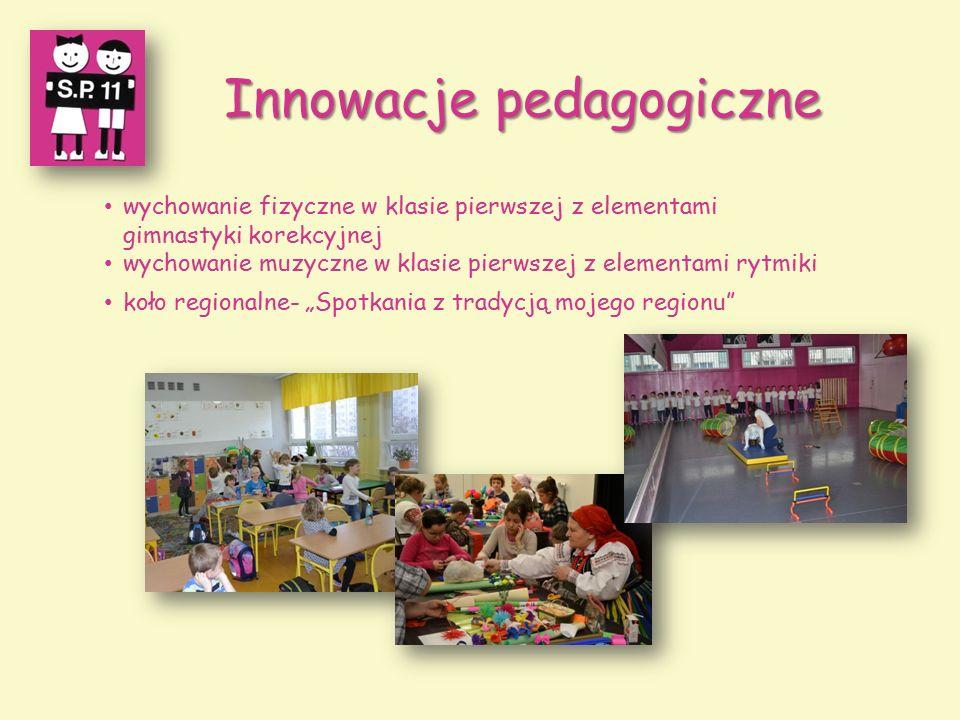 Innowacje pedagogiczne wychowanie fizyczne w klasie pierwszej z elementami gimnastyki korekcyjnej wychowanie muzyczne w klasie pierwszej z elementami