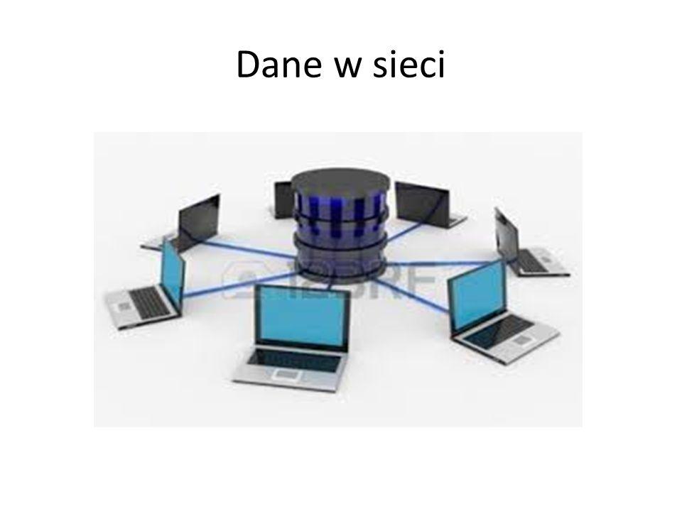 Dane w sieci