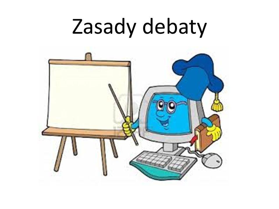 Zasady debaty