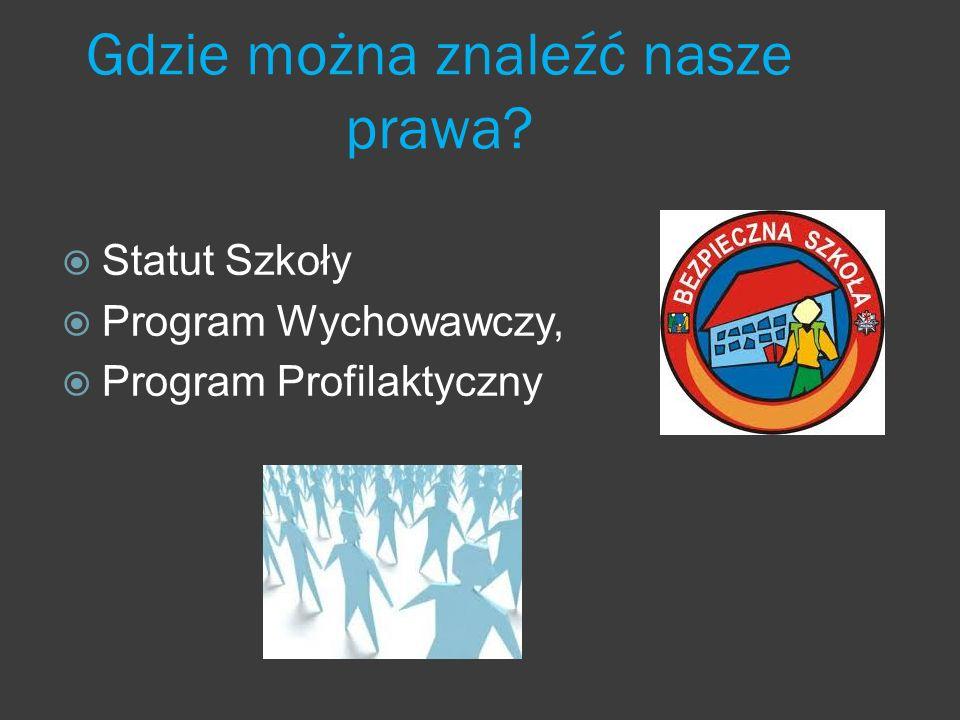 STATUT Zespołu Szkół Podstawowo – Gimnazjalnych im.