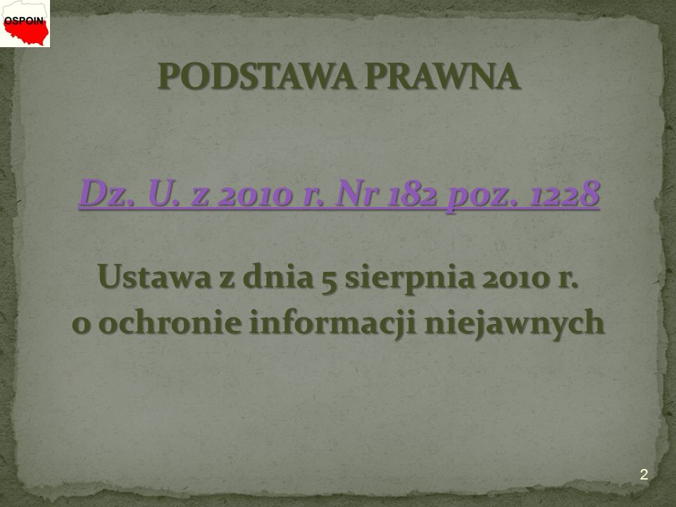 Dz. U. z 2010 r. Nr 182 poz. 1228 Dz. U. z 2010 r.