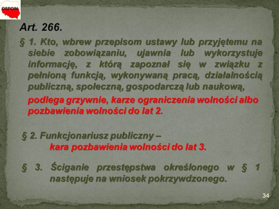 Art. 266. § 1.