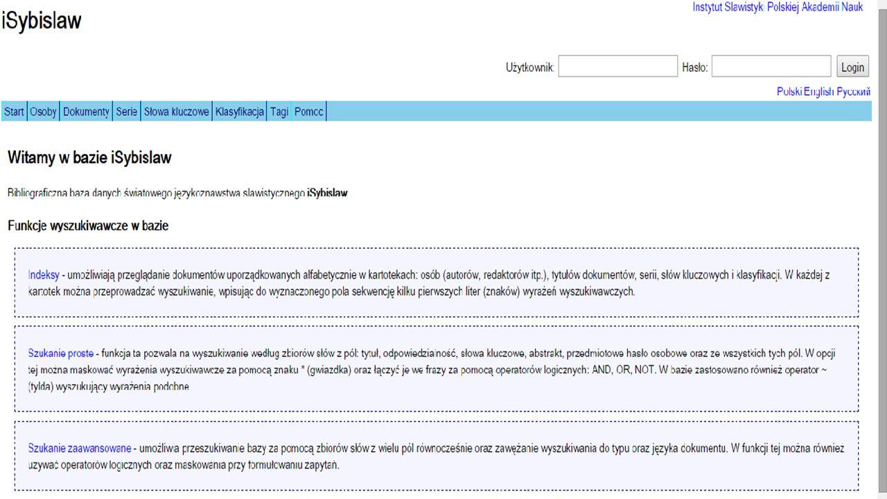 """Bibliografia (wybór)  BABIK W., Język słów kluczowych językoznawstwa slawistycznego - próba charakterystyki, """"Zagadnienia Informacji Naukowej , 2000, nr 2, s."""