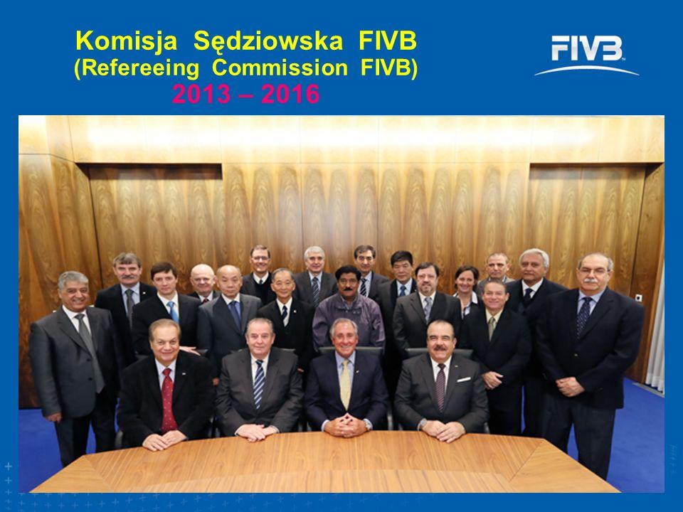 Komisja Sędziowska FIVB (Refereeing Commission FIVB) 2013 – 2016