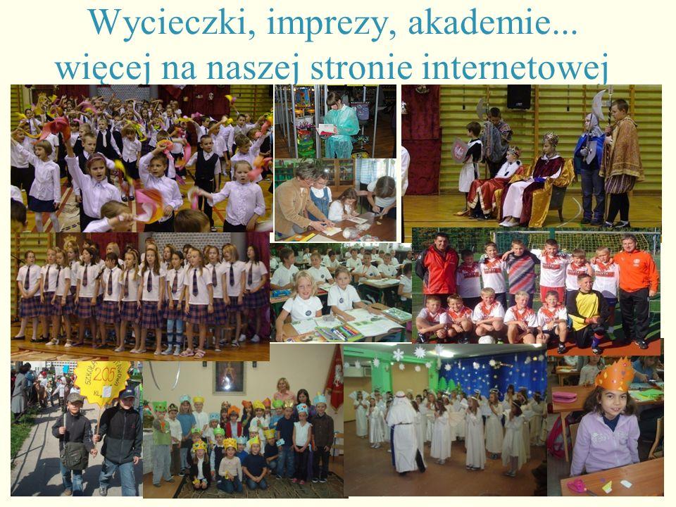 Wycieczki, imprezy, akademie... więcej na naszej stronie internetowej