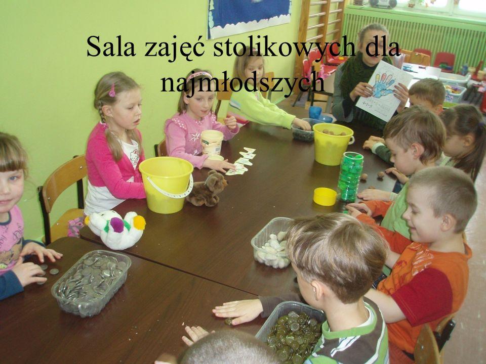 Sala zajęć stolikowych dla najmłodszych