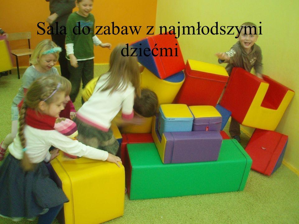 Sala do zabaw z najmłodszymi dziećmi