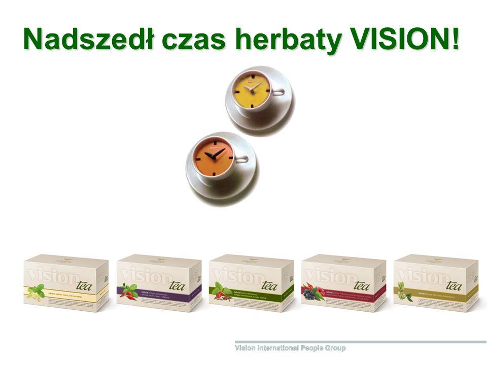 Nadszedł czas herbaty VISION!