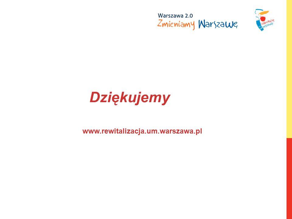 www.rewitalizacja.um.warszawa.pl Dziękujemy