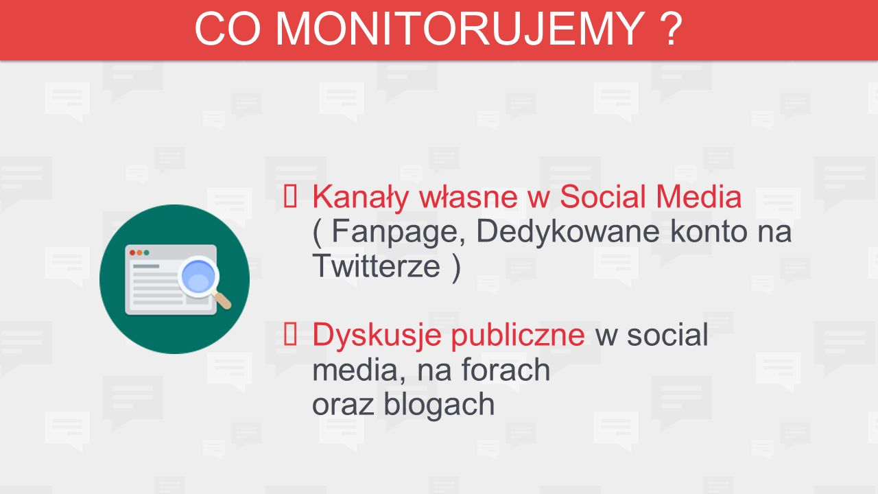 CO MONITORUJEMY .