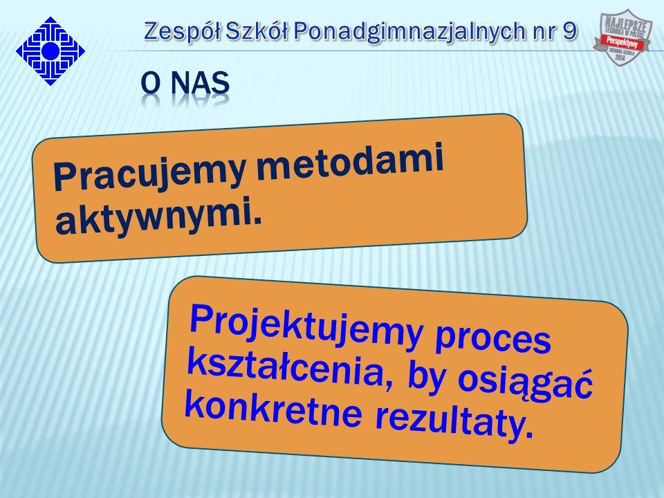 Projektujemy proces kształcenia, by osiągać konkretne rezultaty. Pracujemy metodami aktywnymi.