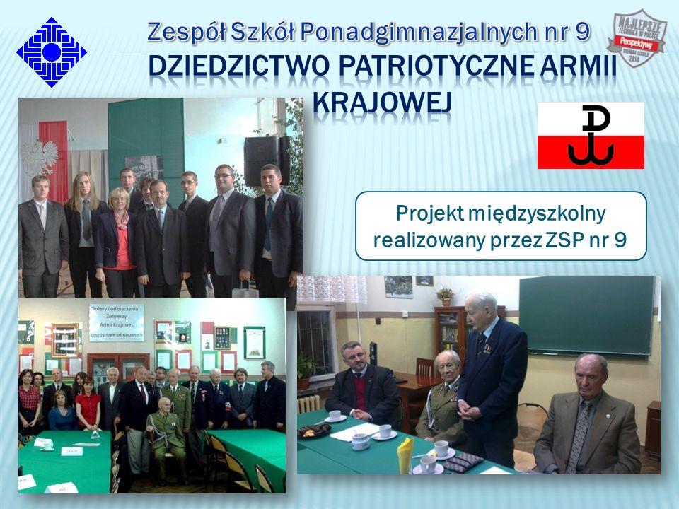 Projekt międzyszkolny realizowany przez ZSP nr 9