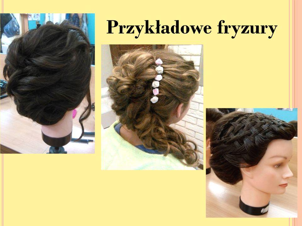 Przykładowe fryzury
