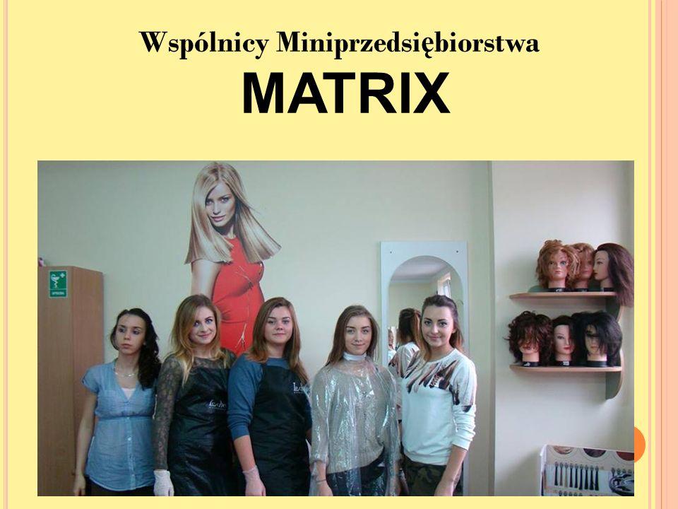 Wspólnicy Miniprzedsi ę biorstwa MATRIX
