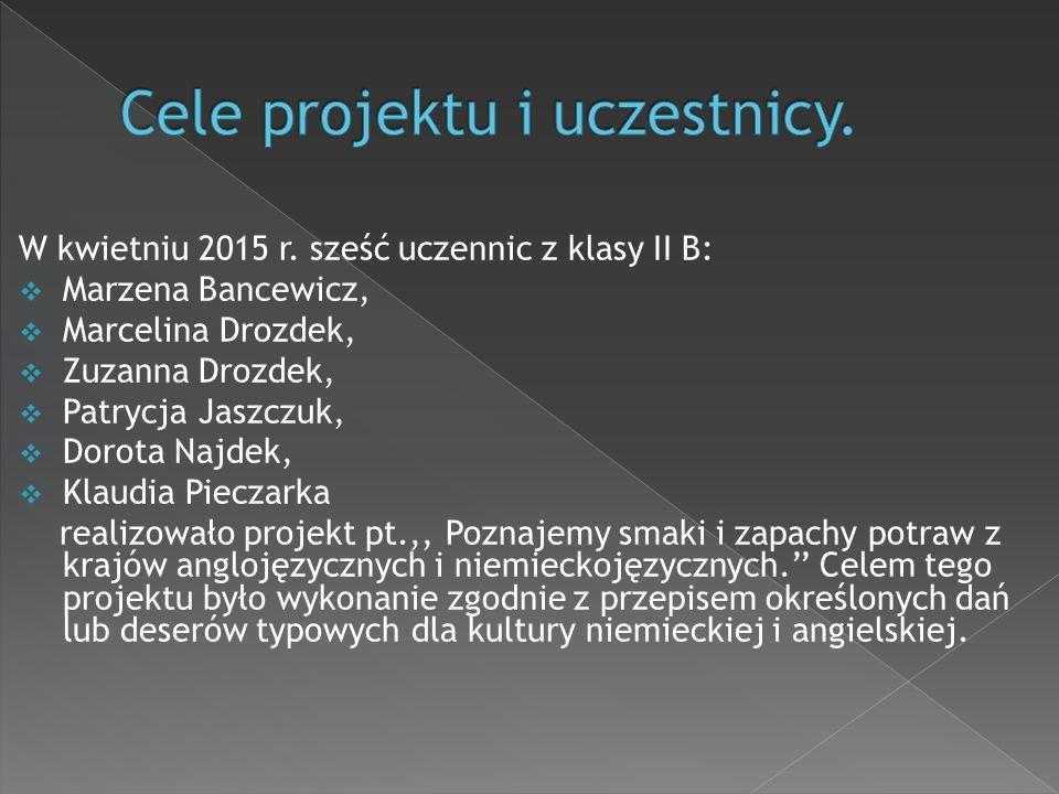W kwietniu 2015 r.
