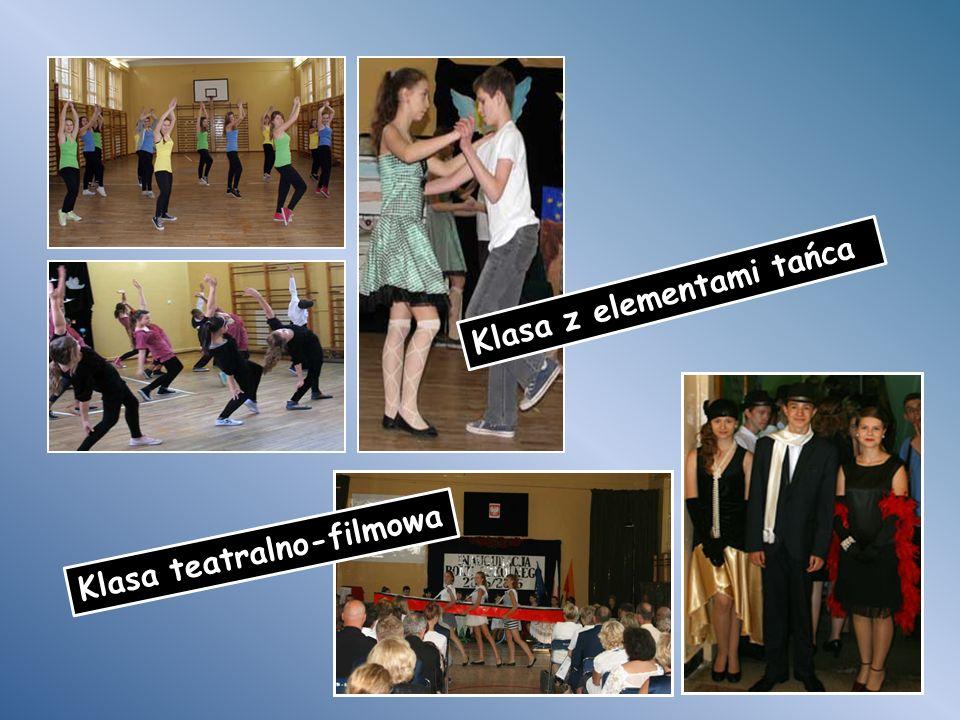 Klasa z elementami tańca Klasa teatralno-filmowa