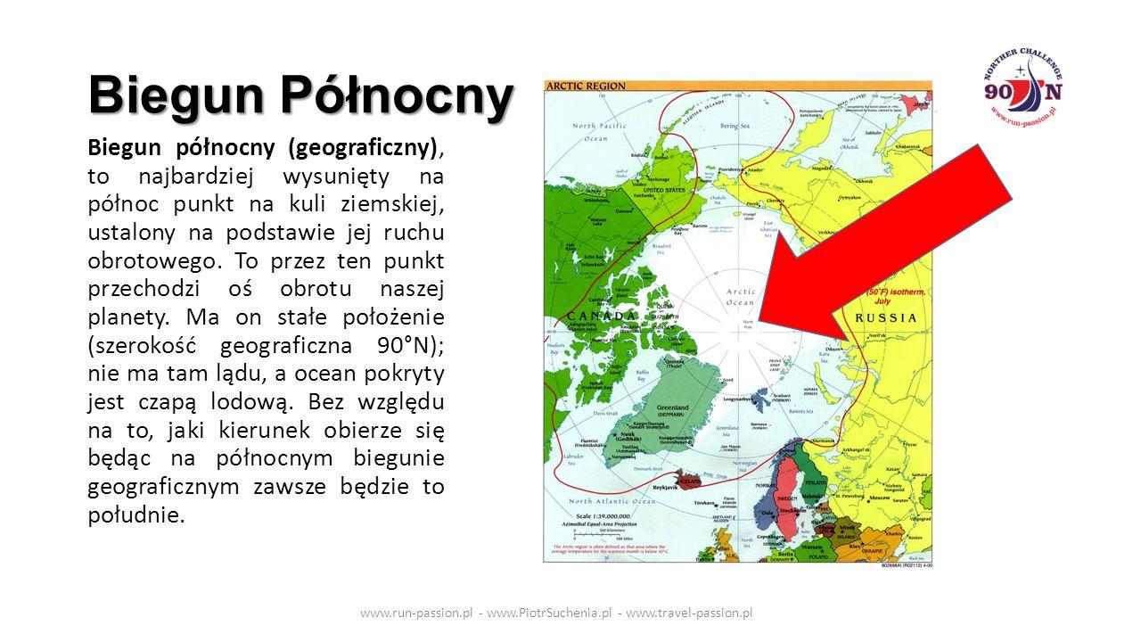 Biegun Północny Biegun północny (geograficzny), to najbardziej wysunięty na północ punkt na kuli ziemskiej, ustalony na podstawie jej ruchu obrotowego.