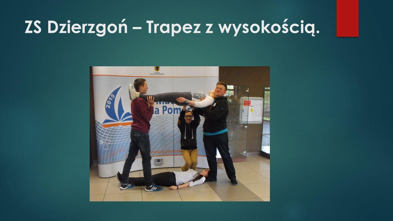 ZS Dzierzgoń – Trapez z wysokością.
